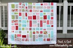 I love this quilt pattern. :)