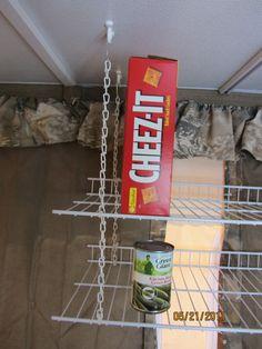 pop-up shelves