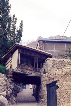 House in Hunza, Pakistan.