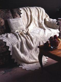 Trellis Squares #knitting