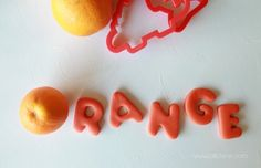 Easy to make orange scented play dough! Your kids will love making this and you'll love the smell!
