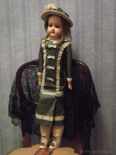 Antigua muñeca ARMAND MARSEILLE antique doll