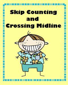 cross midlin, classroom, skip counting, sensori, brain break, educ, math idea, teach, school idea