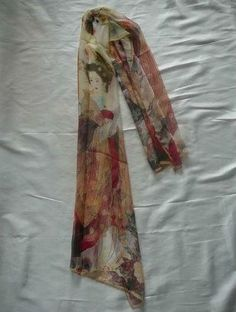 Geisha love <3 Japanese Geisha Scarf. $5.99, via Etsy.