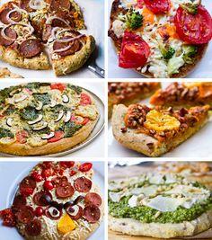 Vegan Pizza Party Recipes! #vegan