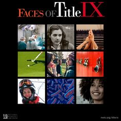 Celebrate 40 years of Title IX! NWLC's new Faces of Title IX portal shares 9 tremendous stories from around America highlighting the strengths of Title IX in its first 40 years. #TitleIX
