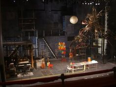 Nederlander Theatre ~ RENT set design I will always be in love with rent's set! This was my first experience of Broadway!