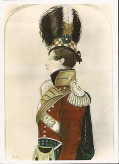 Officer of the 93rd Sutherland Highlanders early 1800's
