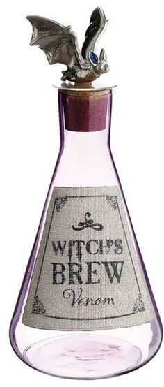 ALLSTATE 'Witch's Brew' Glass Bottle