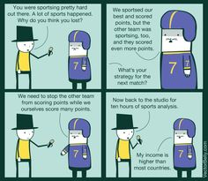 Sports Interview This is how every sports interview sounds to me.