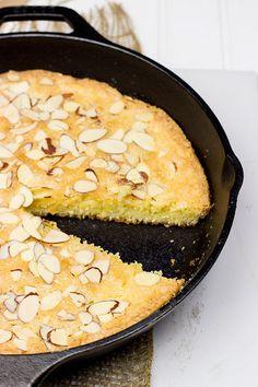 Orange Almond Skillet Cake