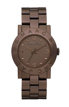 MARC BY MARC JACOBS 'Amy' Crystal Bracelet Watch available at #Nordstrom