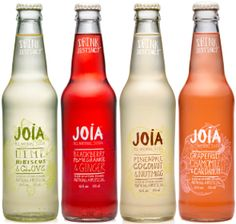 """How's this for a new soda flavor:  pineapple, coconut and nutmeg. Learn how """"cocktails with friends"""" inspired a new line of soda pop with all natural ingredients. - The story of Joia Sodas, today on Why Didn't I Think of That? - https://thinkofthat.net/app/joia-sodas/"""
