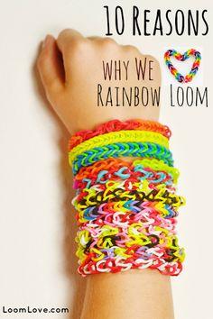 rainbowloom, idea, gift, craft, rainbow loom kit, rainbows, 10 reason, rainbow loom bracelets, kid