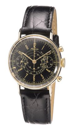 Alpina vintage pilot chronograph