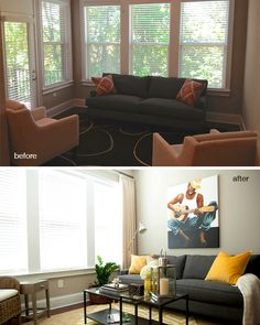 Here's proof that a few accessories from HomeGoods go a long way in transforming a space. #Sponsored #sunroom