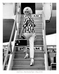 Marilyn Monroe Pan Am peopl, airport, marilyn monroe, normajean, style, 1962, travel, norma jean, marilynmonro