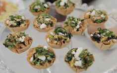 Phyllo breakfast cups