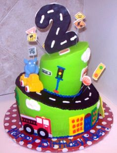 photos of boy first birthday cakes - Google Search