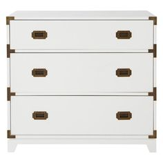 Campaign Dresser (White) | The Land of Nod campaign dresser, dresser white