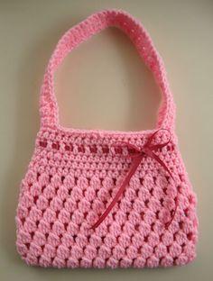 Bobble-licious Bag: free pattern