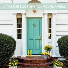Learn how to boost your curb appeal with these ten simple tips and projects.