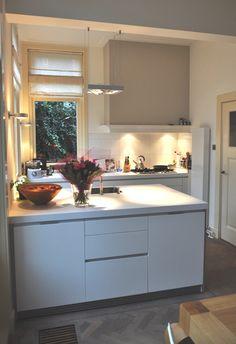 Open keuken on pinterest met bar and vans - Keuken open concept ...
