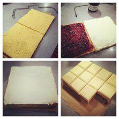 Petit Fours recipe and tutorial.