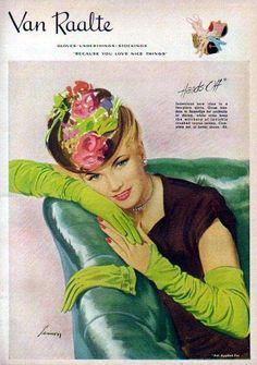 Van Raalte 1938 Ad