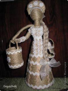 Кукла из шпагата своими руками