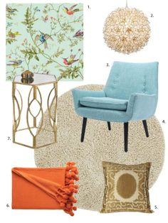 One Design, Two Budgets: Chic, Comfortable Sitting Room