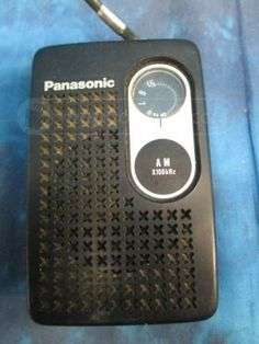 Panasonic Handheld AM Radio