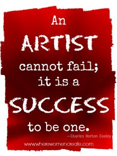 Where Women Create Quotes: Success #quote #quotation #inspiration #success #art #artist