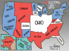 """Where are you on this map? I'm in """"tree hugger"""" country. Hey, remember to vote already."""
