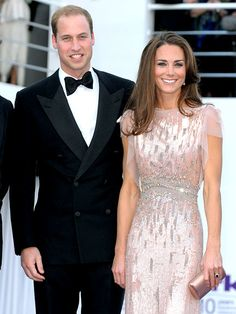 obsess, duchess of cambridge, gowns, dresses, blush pink