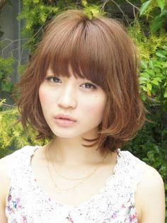 cur japanes, bobs, japanes hairstyl, dreams, bangs, soft bob, hairstyl fashion, wedding hairstyles, soft cur