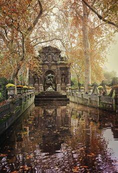 De Medici Fountain, from Luxembourg Gardens in Paris.