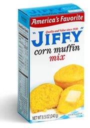Jiffy Mix, made in Chelsea, Michigan for over 120 years.