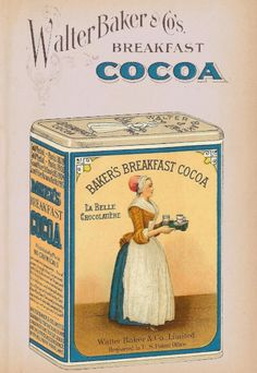 """Free Antique Printable - 1923 Baker's Chocolate and Cocoa Images via Knick of Time (click """"Visit Site"""" for all images)"""