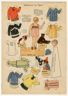 """78.8774: Munecas De """"La Tijera""""/Maria Luz 