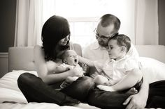 family, newborn photos