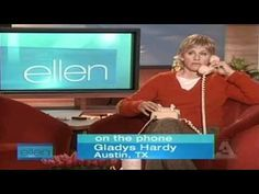 I had tears streaming from my eyes, this is the funniest thing I've ever seen. She even had Ellen speechless!