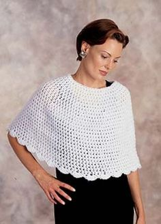 Town and country poncho