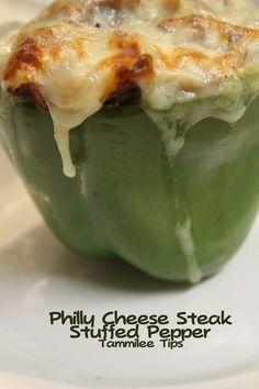 Philly Cheese Steak Stuffed Pepper Recipe