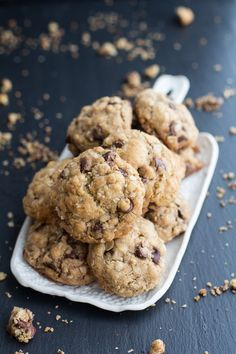 Best Oatmeal Chocolate Chip Cookies Around