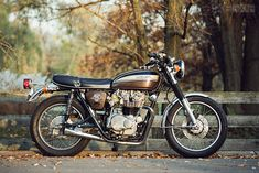 This stealthy Honda CB450 custom looks mostly stock at first glance, but there are a dozen unique touches that make it special.  #Honda #HondaCivic #HondaCars