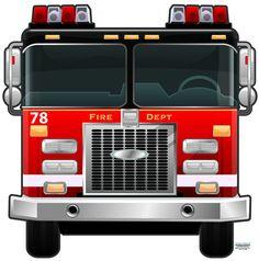 ... fire-truck-wall-mural/) fire trucks, wall murals, truck room, truck