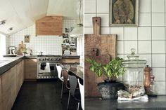 wood kitchens, tile, timber kitchens