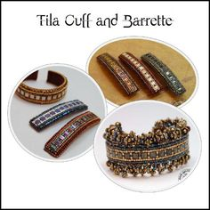 Tila Cuff and Bracelet  Good Quill Hunting