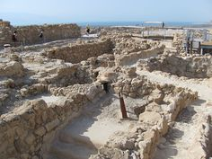 The ruins of the Essenes community at Qumran (photo copyright 2011 wiki user MotherForker)